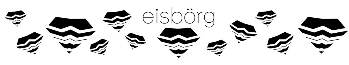 Shop Banner, Header von eisboerg streetwear kleidung dresden, geometrisches Muster, Logo, Eisberg, Design